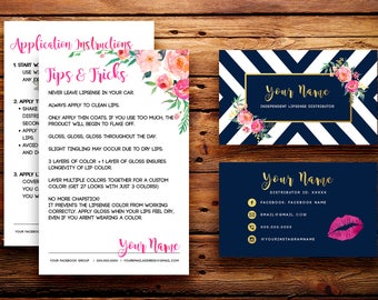 Lipsense business cards etsy best selling items colourmoves