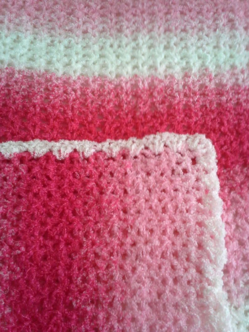ee51a45a7 Rosa y blanco a rayas manta con sombrero rosa rosa rosa bebé