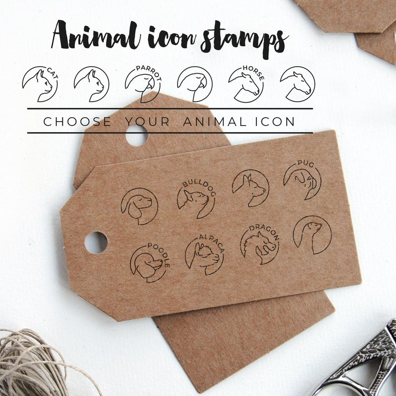 gift for llama lovers llama gift for crafters Custom llama stamp with name or quote personalized llama stamp for animal lovers
