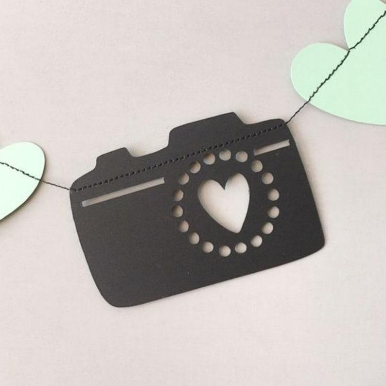 Photographer Accessories Brand Rep Culture Camera Banner Camera Garland