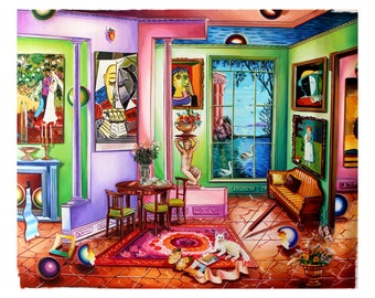 Astahov Paintings Look Just Like Ferjo Paintings Art Review