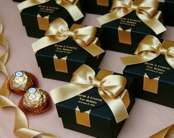 gold wedding favors etsy