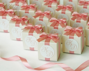 Wedding Favor Boxes.Wedding Candy Box Etsy