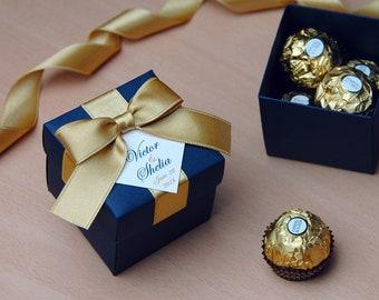blue wedding favors etsy