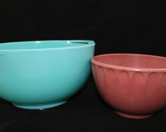 Large Vintage Mixing Bowl Choice of Color