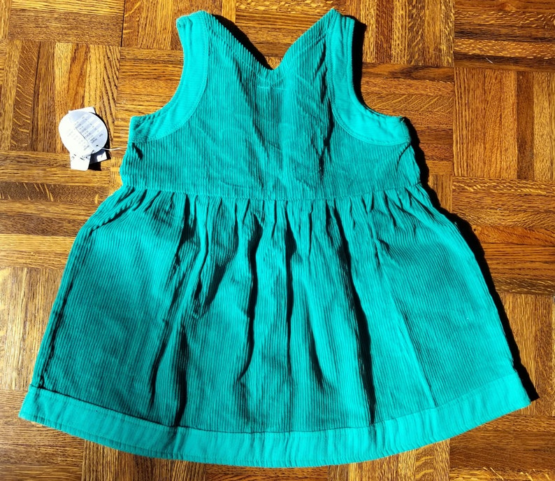 - New with Tags! Girls Size 5 Green Corduroy Girls/' Dress by Hush Puppies Pups