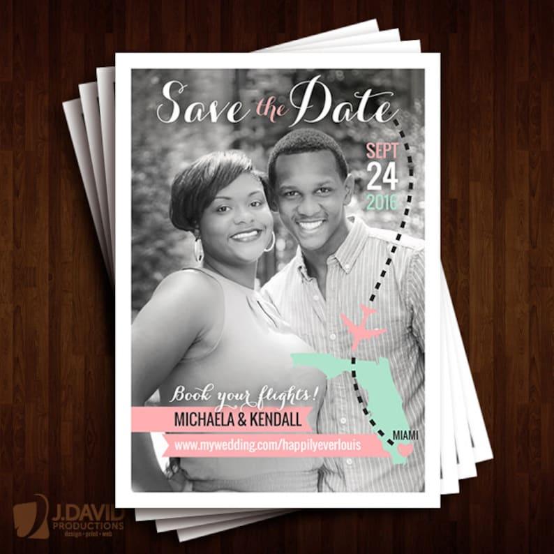 Destination Wedding Save the Dates