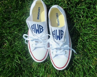 213cce9c72827b Women s Monogrammed Converse Shoes