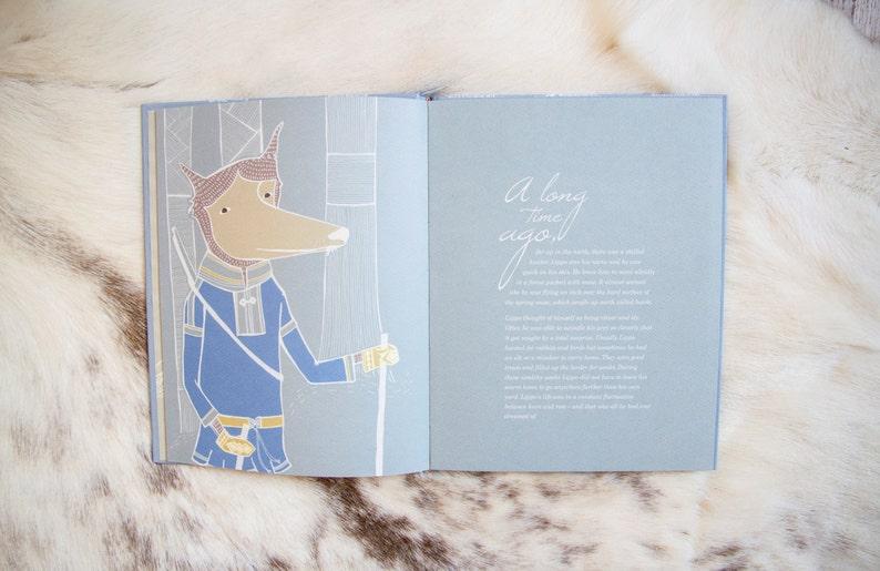 Nietos  Journey in Lapland Children book gift for kids image 0
