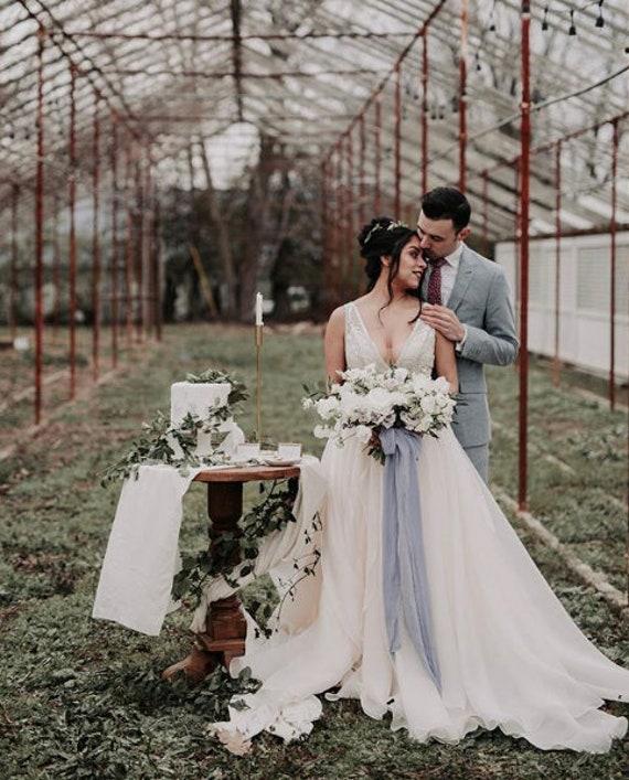 Trotteuse vrai ruban en soie violet, ruban de mariage, fleurs ruban de teint pour fleurs mariage, de mariage, style de photographie de mariage, mariage romantique 6616eb