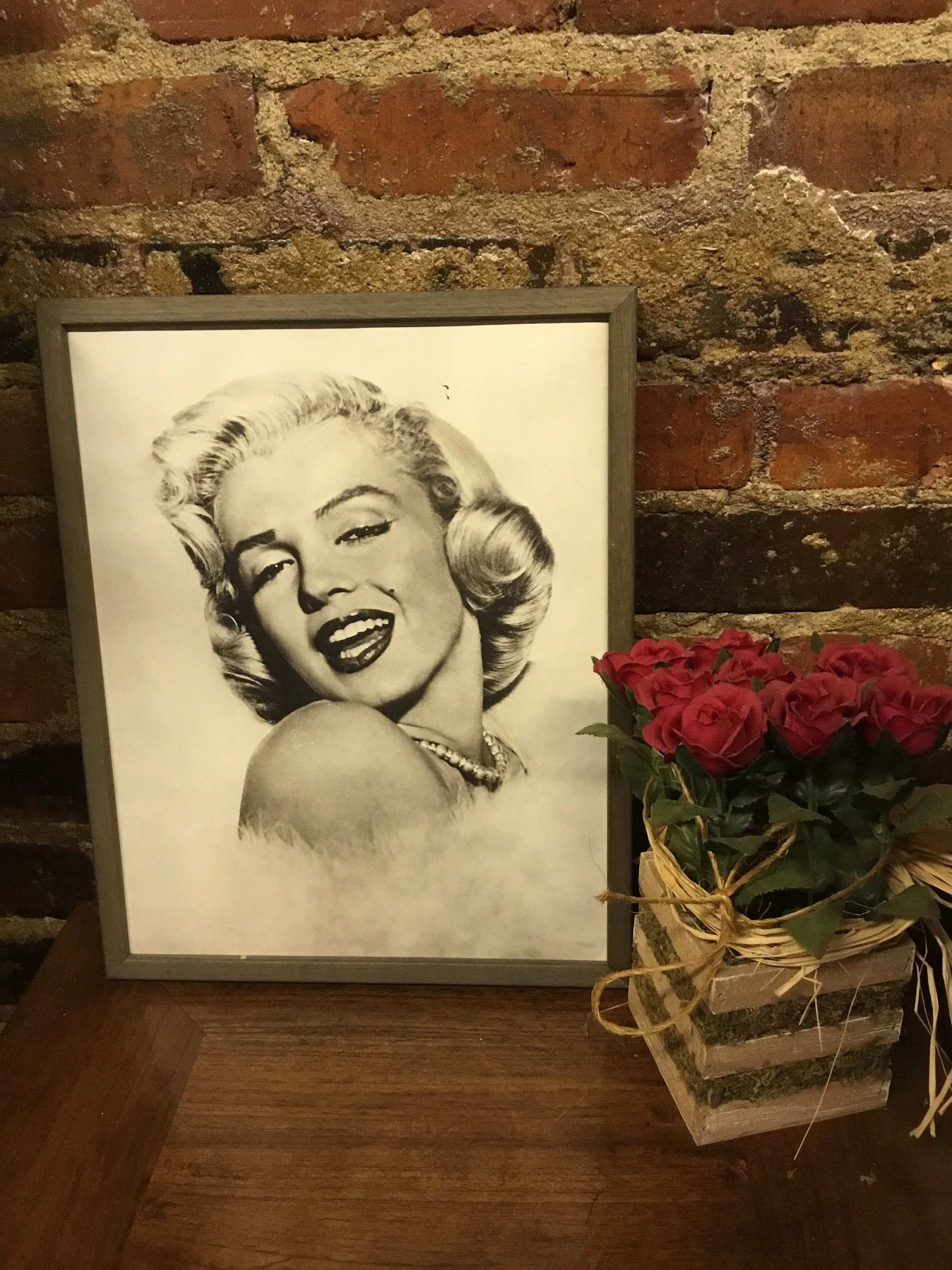 Marilyn Monroe, Vintage, Wall Art, Collectible Poster, Vintage ...