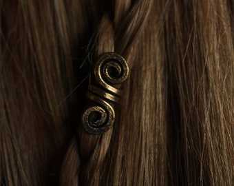 Viking hair and beard beads