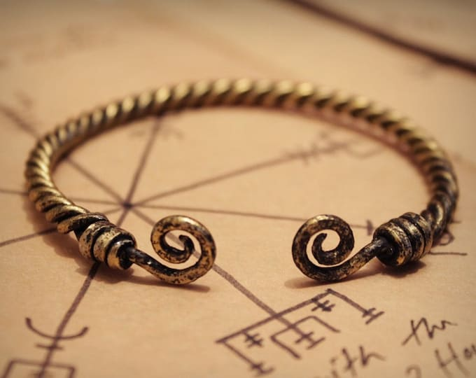 Viking torc bracelet II
