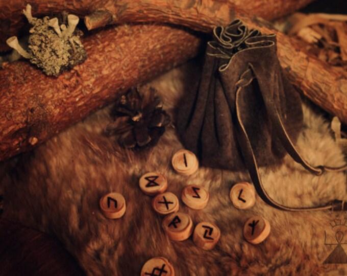 Pine viking runes
