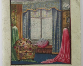Peach and Sons Catalogue c. 1930s Home Decorations (Soft Furnishings)