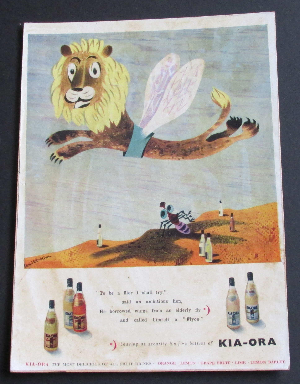 Kia ora Vintage Advertising poster reproduction.