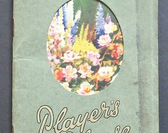 Players Gardener's Reference Book and Diary  1934