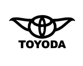 Toyoda Car Window Vinyl Decal