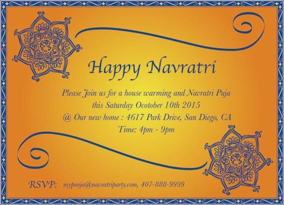 Custom ethnic design card navratri invitation mehendi stopboris Images