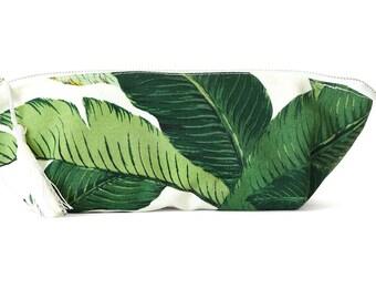 de8c5cfdc418 Palm leaf makeup bag | Etsy