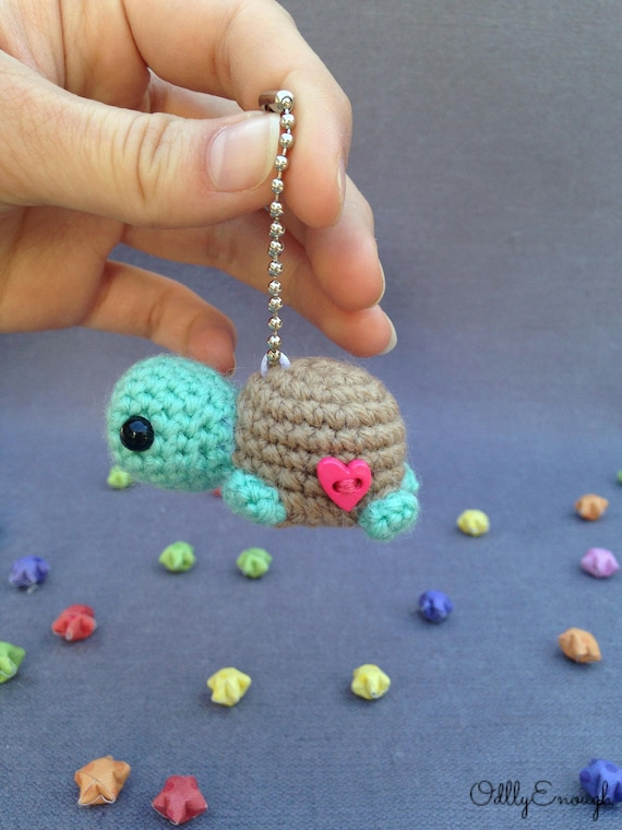 Turtle Keychain Crochet Turtle Turtle Amigurumi Cute Keychain Crochet Keychain Gift Ideas Gifts For Friends