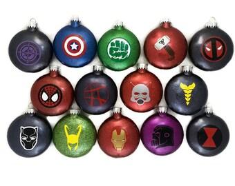 Avengers Ornament Etsy