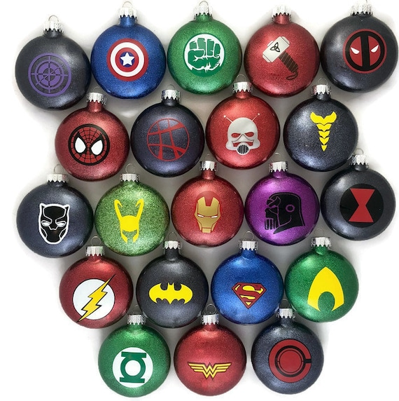 Super Hero Ornaments Super Hero Glitter Ornaments Avengers Ornaments Marvel  Comics Ornaments DC Comics Ornaments Super Hero Gifts - Super Hero Ornaments Super Hero Glitter Ornaments Avengers Etsy