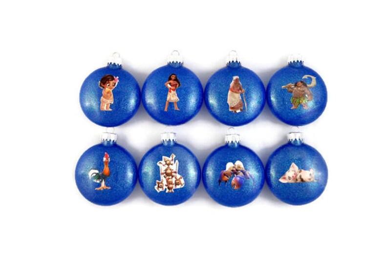 Disney Moana Ornament Moana Christmas Ornament Moana Ornament Maui Ornament Baby Moana Ornament Disney Moana Gift Pua Ornament