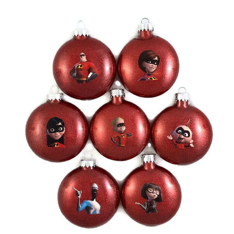 The Incredibles Ornament Incredibles Christmas Ornament Disney Incredibles Ornaments The Incredibles 2 Ornament Disney Incredibles Christmas