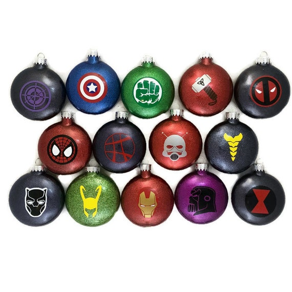 Marvel Super Hero Ornaments Super Hero Glitter Ornaments Marvel Comics  Ornaments Super Hero Gifts Infinity Wars Ornaments Avengers Ornament - Marvel Super Hero Ornaments Super Hero Glitter Ornaments Etsy