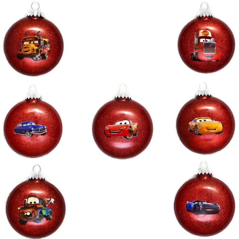 Disney Cars Ornament Cars Christmas Ornament Lightning Mcqueen Ornament Tow Mater Ornament Doc Hudson Ornament Disney Cars Gifts