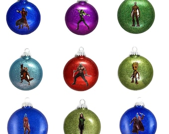 Guardians of the Galaxy Ornaments - Guardians of the Galaxy Christmas - Guardians of the Galaxy Christmas Ornament - Guardians of the Galaxy