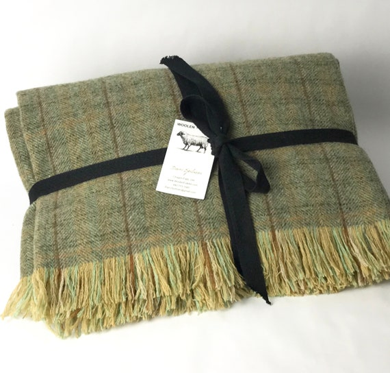 Washable Wool Throw Blanket 40x40 Milled In The Etsy Gorgeous Washable Wool Throw Blanket