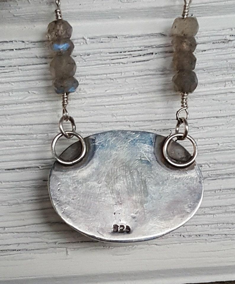 Moonstonelabradorite necklace OOAK necklaces