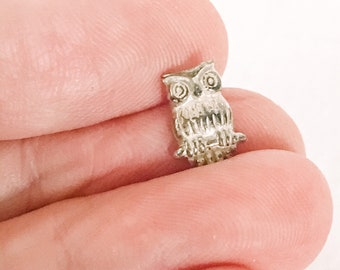 Sterling Silver Owl Casting