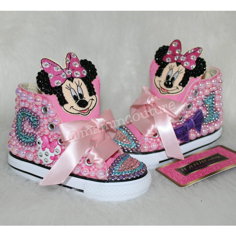 96f25b509da2 Minnie Mouse shoes Minnie Mouse converse Minnie Mouse