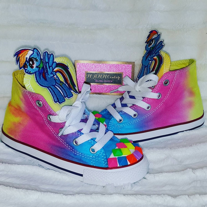 c9a36ca6bbd5 My Little Pony shoes Children s Converse Custom