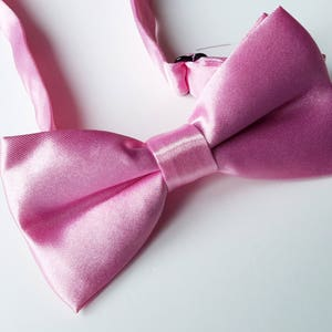 97b2dc1a8756 Boys Pink Bow Tie, Bow ties for Boys, Boys Double Bow tie, 6-12 Years
