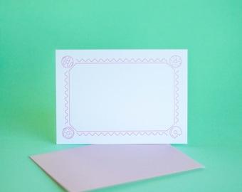 Doughnut Flat Notecard Set