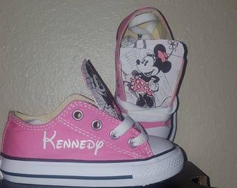19d4ff0a590d Toddler Kids--- Vintage Minnie Mouse (pink)