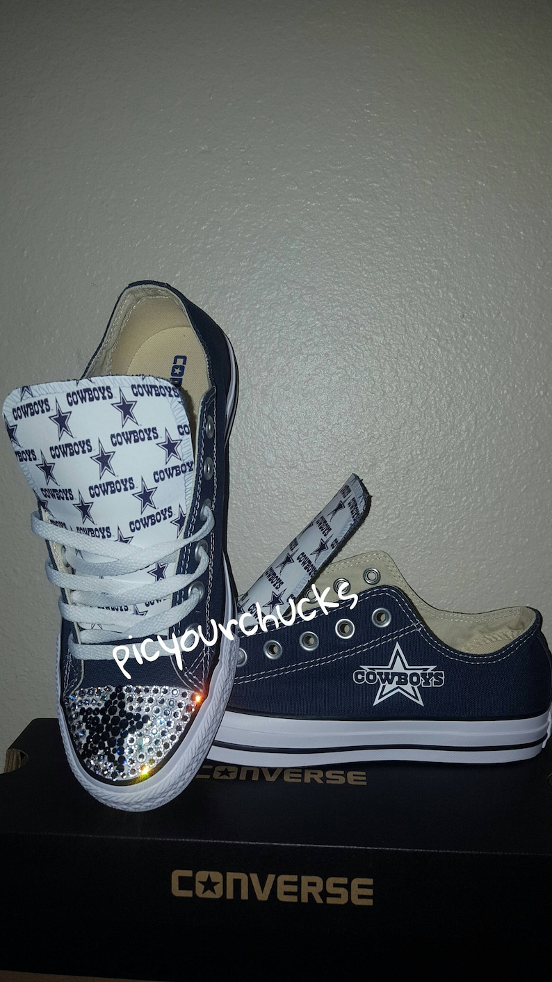 d6918335ae9f Toddler Kids Cowboys Converse 3