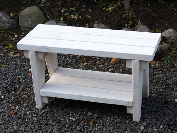 Astounding Wooden Bench Shoe Bench Garden Bench White Bench Bench Oven Bench Flower Bench Hallside Bench Floorboard Garner Bench Solid Wood Country House Vintage Ncnpc Chair Design For Home Ncnpcorg