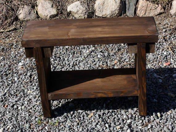 Oma s kleine schoen houten bankje zitbank tuin bench bench etsy