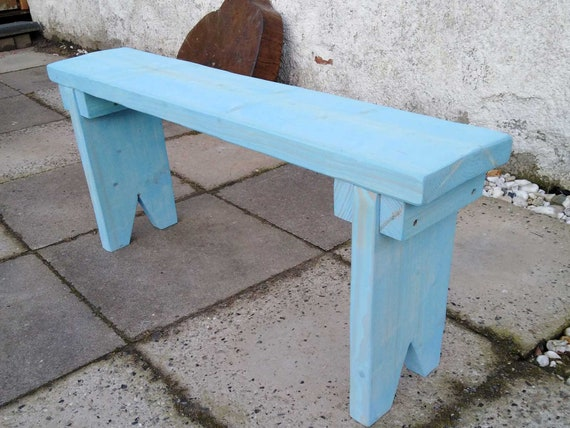 Groovy Omas Vintage Bank Wooden Bench Bench Bench Flower Bench Fireplace Bench Dielenbank Garden Bench Farmers Bank Childrens Bank Blue Solid Wood Country Unemploymentrelief Wooden Chair Designs For Living Room Unemploymentrelieforg
