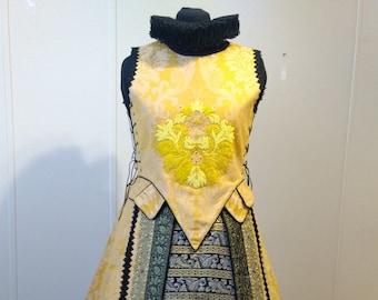Spanish Style Renaissance Gown