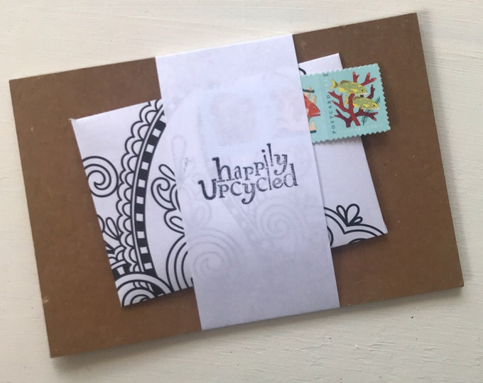 DIY Craft Kit: Upcycled Postcards