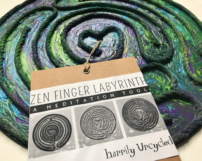 Zen Finger Labyrinth: Mother Earth