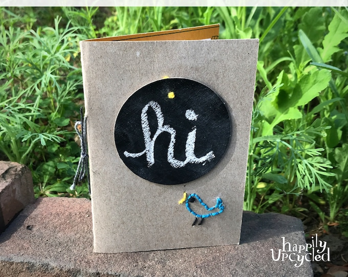 DIY Craft Kit: Hello! Birdy Embroidered Notecard Gift Set
