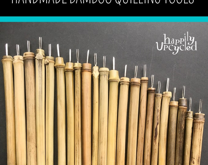 Quilling Tool: Handmade from Bamboo