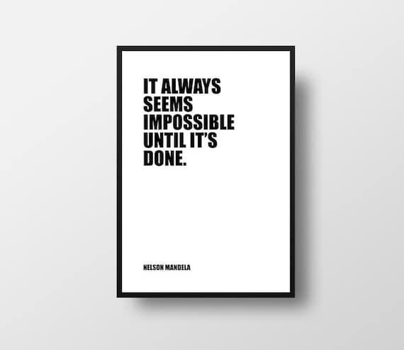 Nelson Mandela Learning Cytat Cytaty Leader Nauka Nauczanie Dekoracje Klasy Druk Motywacyjny Typograficzne Drukuj Inspirujące